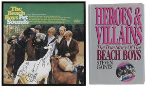 Beach Boys Autographed Album with Book