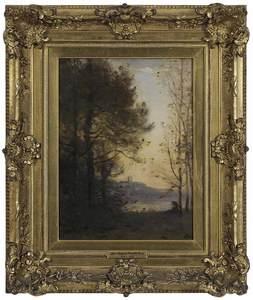 Manner of Jean-Baptiste-Camille Corot