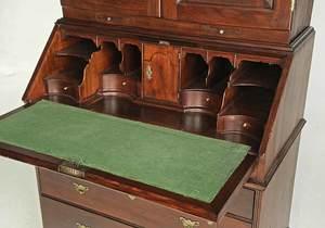 Rare George I Red Cedar Desk and Bookcase