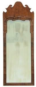 Queen Anne Walnut Mirror