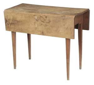American Federal Maple Drop Leaf Table