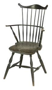 American Comb-Back Windsor Arm Chair