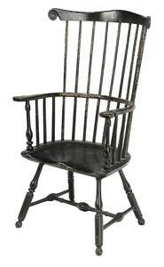 Pennsylvania Comb-Back Windsor Arm Chair
