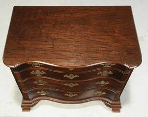 Chippendale Style Mahogany Chest