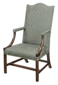 American Chippendale Lolling Chair