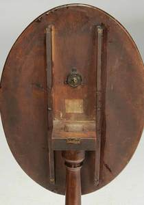 American Federal Tilt Top Candle Stand