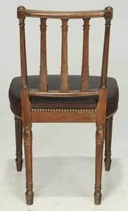 Philadelphia Carved Mahogany Side Chair
