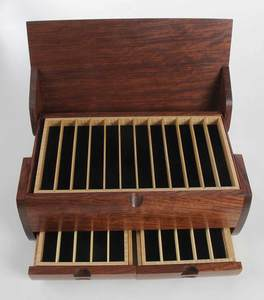 Ray Jones Wood Pen Box
