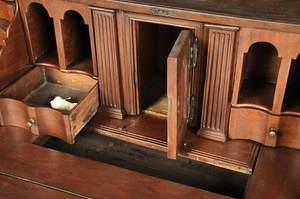 Rare William and Mary Cedar Slant Front Desk