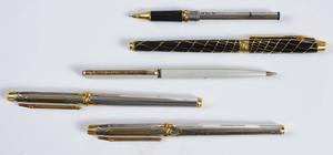 Five Elysee Pens & Pencil
