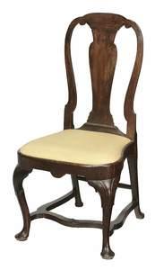 Queen Anne Walnut Side Chair
