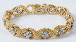 Jabel 18kt. Diamond Bracelet