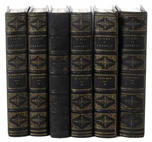 Audubon, Birds of America, Six Volumes