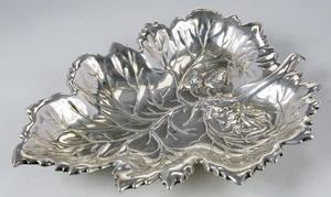 Sterling Leaf Plate
