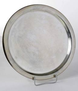 Mexican Sterling Round Tray