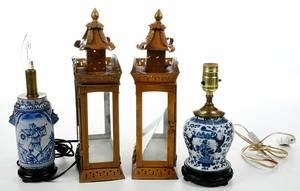 Four Decorative Lighting Devices