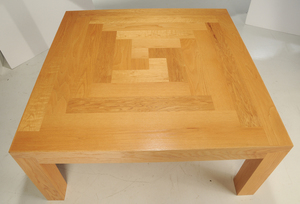Square Oak Dining or Work Table