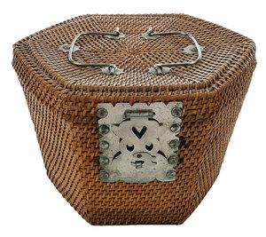 Japanese Basket Tea Set