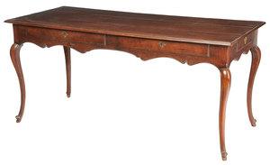 Provincial Mahogany Desk