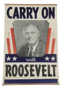 Franklin Delano Roosevelt Broadside