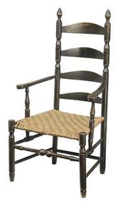 American Ladder Back Arm Chair