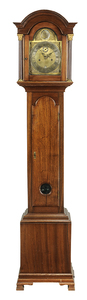Scottish George III Style Mahogany Dwarf Clock