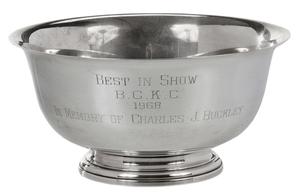 Best in Show Sterling Trophy, 1968