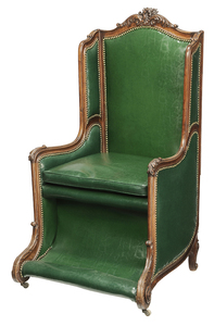 Provincial Louis XV Style Carved Arm Chair