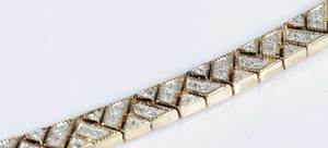 Two Diamond Bracelets