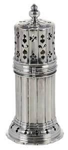 English Silver Sugar Caster