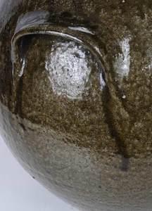 Rare Isaac Lefevers Stoneware Vessel