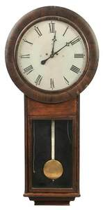 Large Scale Classical Rosewood Wall Clock