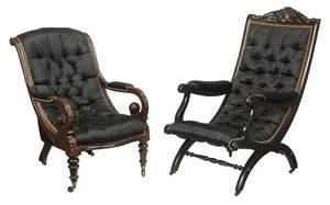 American Classical Mahogany OpenArm Chair