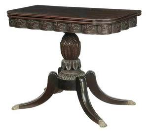 Fine American Classical Games Table