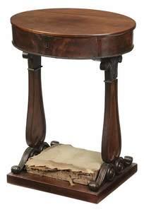 Classical Mahogany Sewing Table