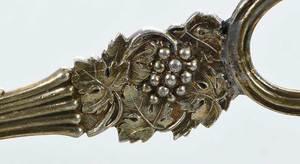 Gilt English Silver Grape Shears