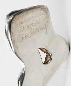 Three Pieces Craft Sterling Flatware