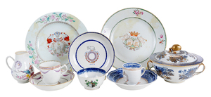 21 Pieces Chinese Export Porcelain