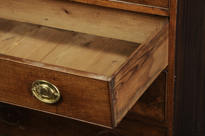 George III Mahogany Four Drawer Chest