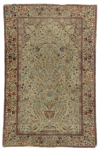 Ivory Field Prayer  Rug