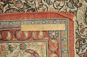 Ivory Field Sarouk Carpet