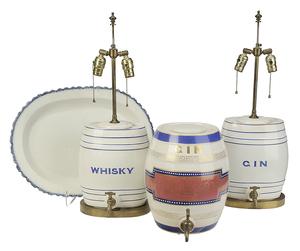 Four British Ceramic Pieces