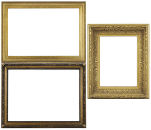 Two Reproduction Frames, Liner