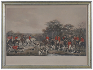 Three British Fox Hunting Prints
