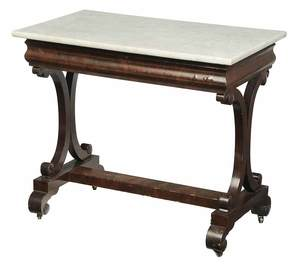 American Classical Marble Top Table