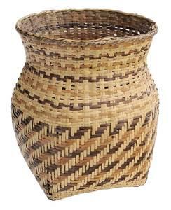 Cherokee River Cane Burden Basket