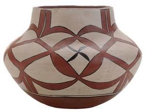 Acoma Pueblo Pottery Decorated Jar