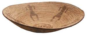 Finely Woven Apache Shallow Basket