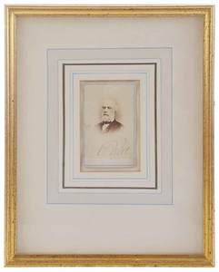 Signed Robert E. Lee Carte de Visite