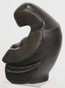 Bronze Mother and Child Sculpture
